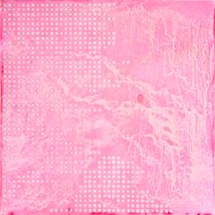 Flower Triangle / stabilo - pink lake